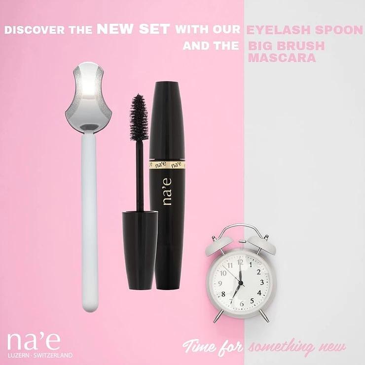 na'e eyelash spoon mascara applicator